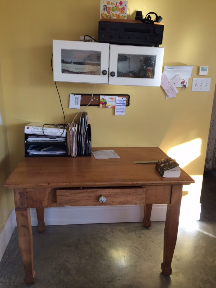 Drop Zone/Family Desk Redesign